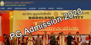 Read more about the article Bodoland University Admission Notice 2020